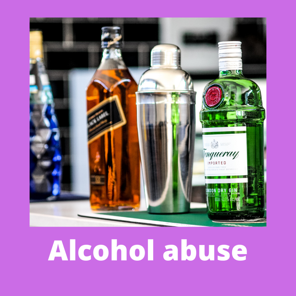 a button for accessing more information on the hypnotherapy store's alcohol abuse package.
