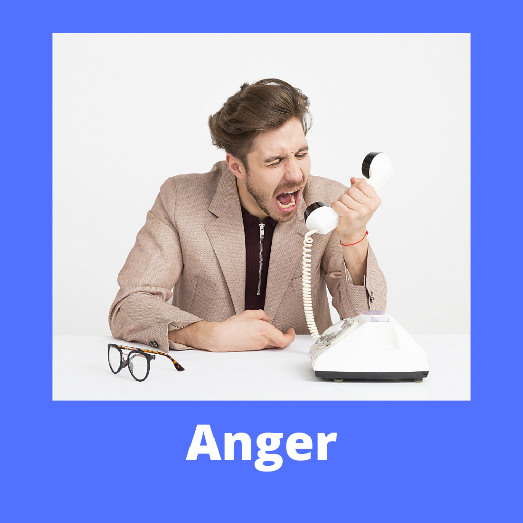 a button to access more information on the hypnotherapy store's anger package