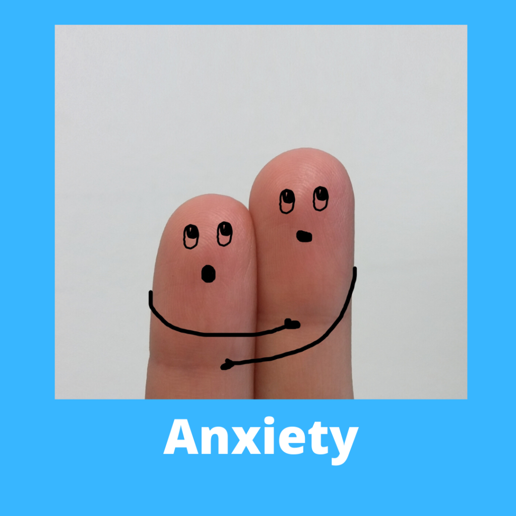 a button to access more information on the hypnotherapy store's anxiety package
